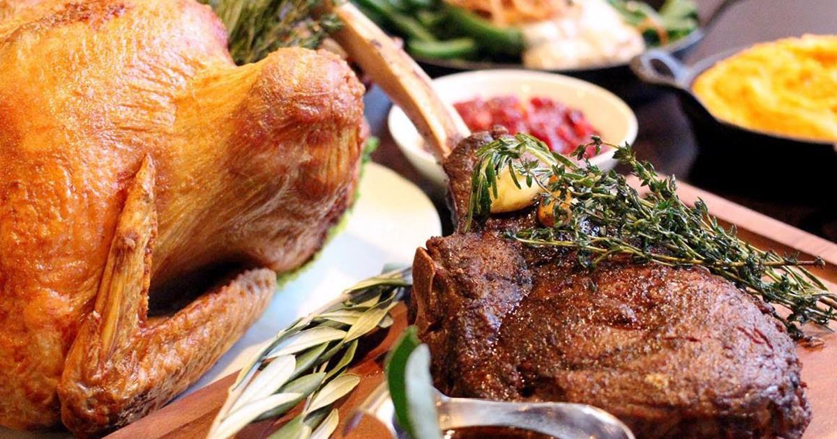 17 Restaurants Taking Last Minute Thanksgiving Reservations In Boston