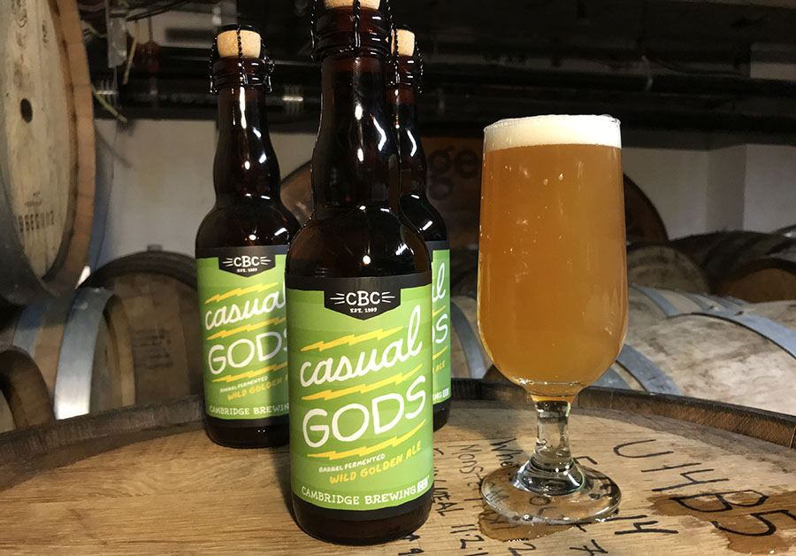 Cambridge Brewing Co. Casual Gods
