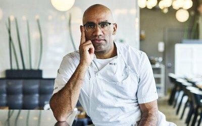 Chef-owner Douglass Williams of Mida.