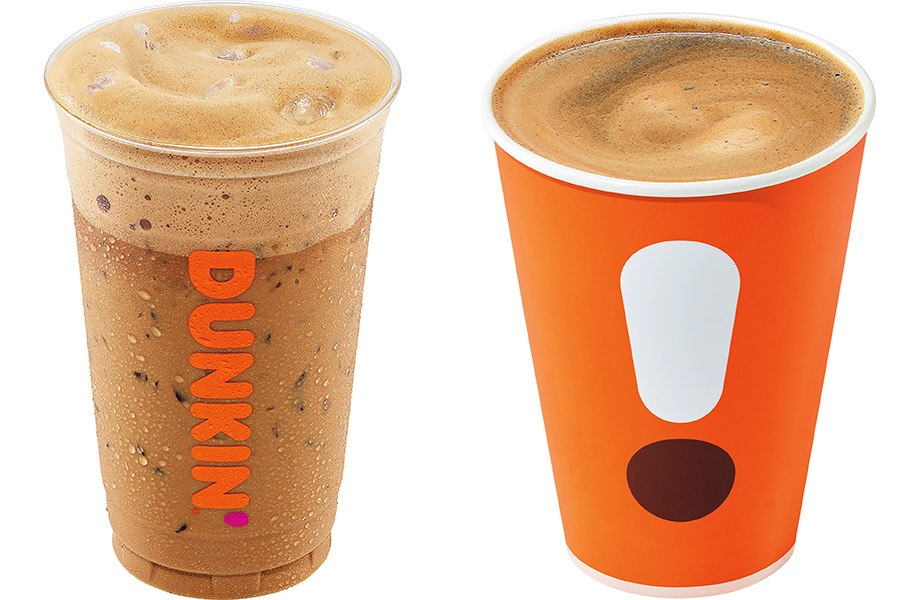 Iced French vanilla latte and Americano are two new espresso drinks at Dunkin'