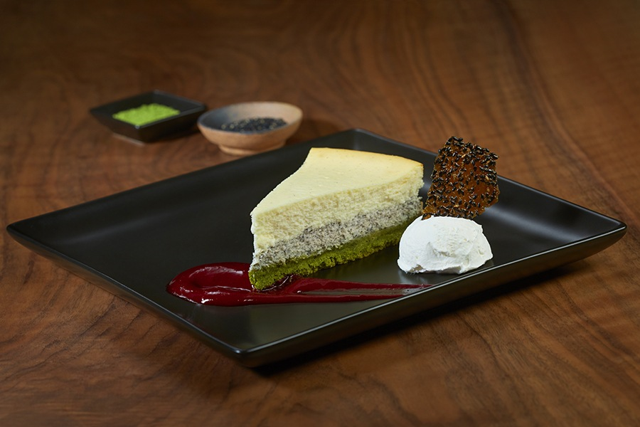 Goma cheesecake at Gen Sou En