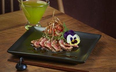 Beef tataki at Gen Sou En