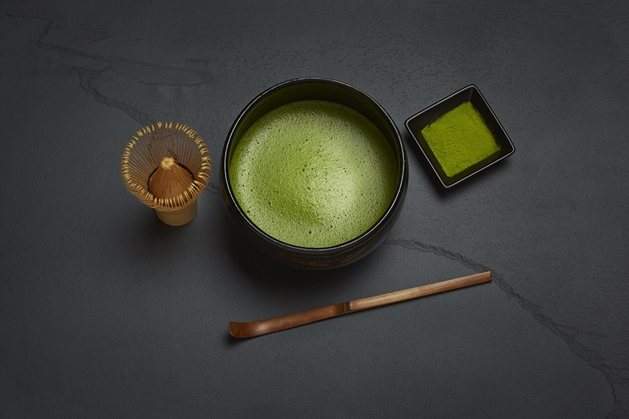 Matcha tea at Gen Sou En
