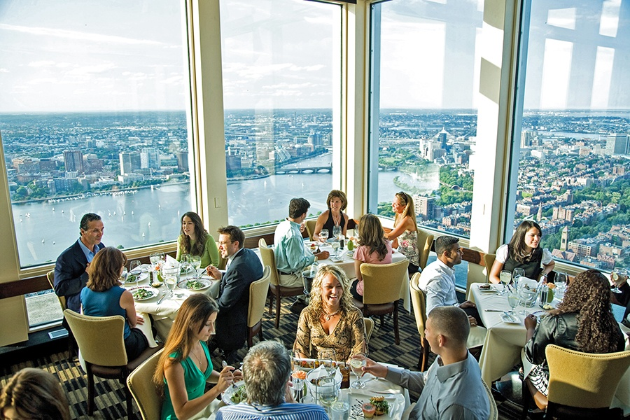 An unparalleled view of Boston is on the Thanksgiving menu at Top of the Hub