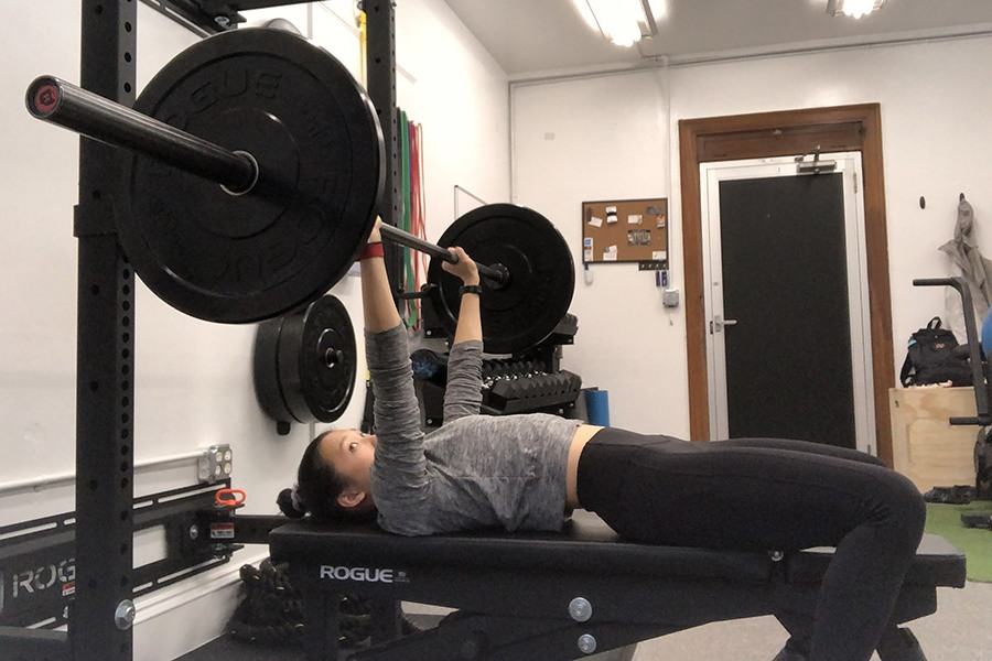 how to barbell bench press