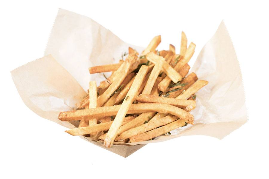 Clover's rosemary fries