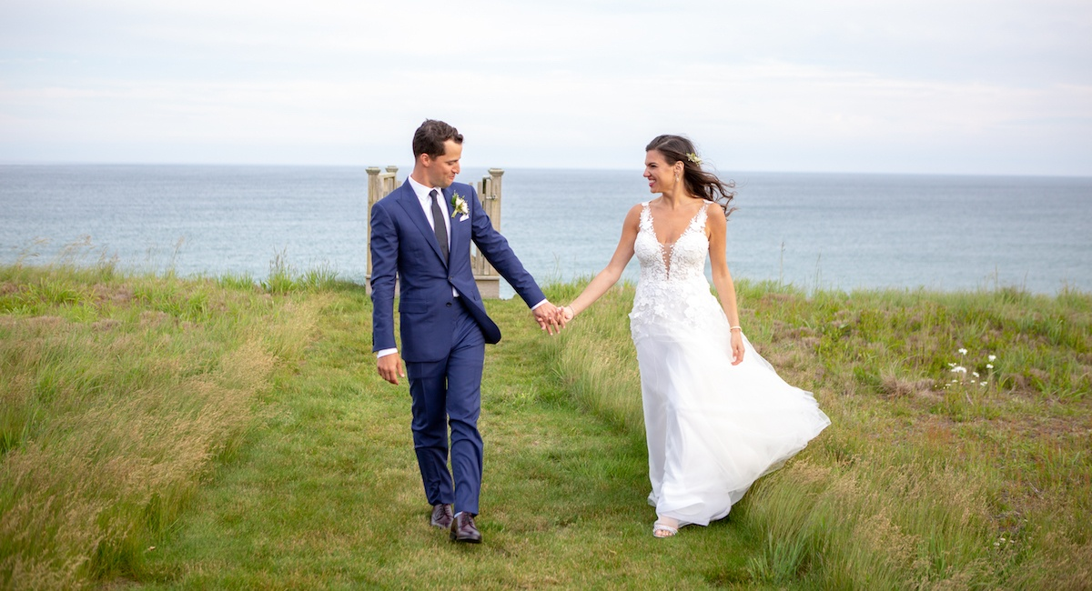 Real Weddings Boston: Lianne Madorsky And Danny Liebowitz's Nantucket Wedding
