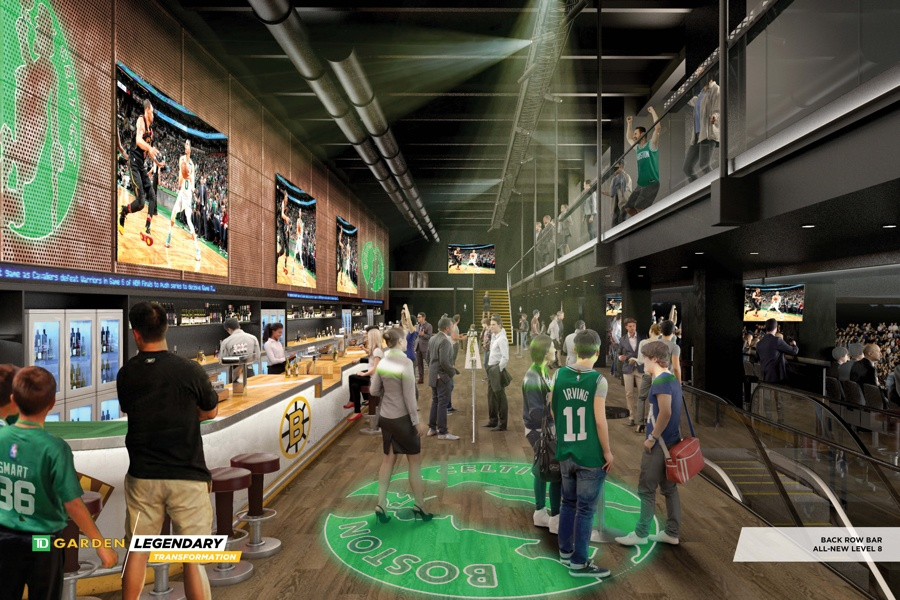 Photos Inside The Plans For The New And Improved Td Garden