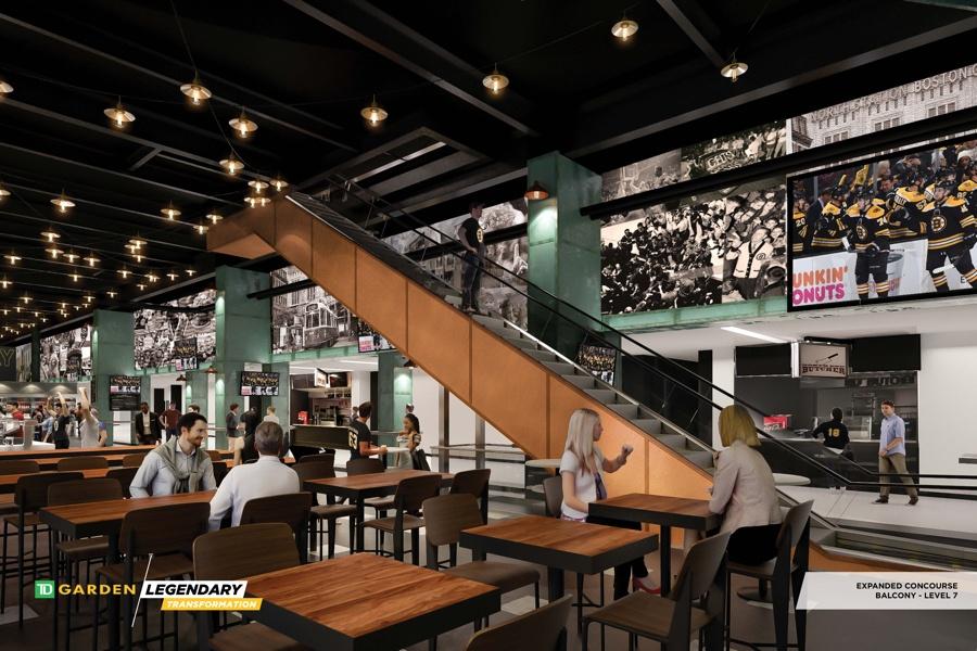 TD Garden renovation rendering