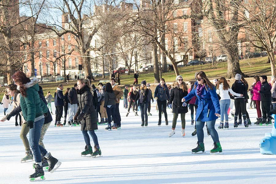 winter ice-skating