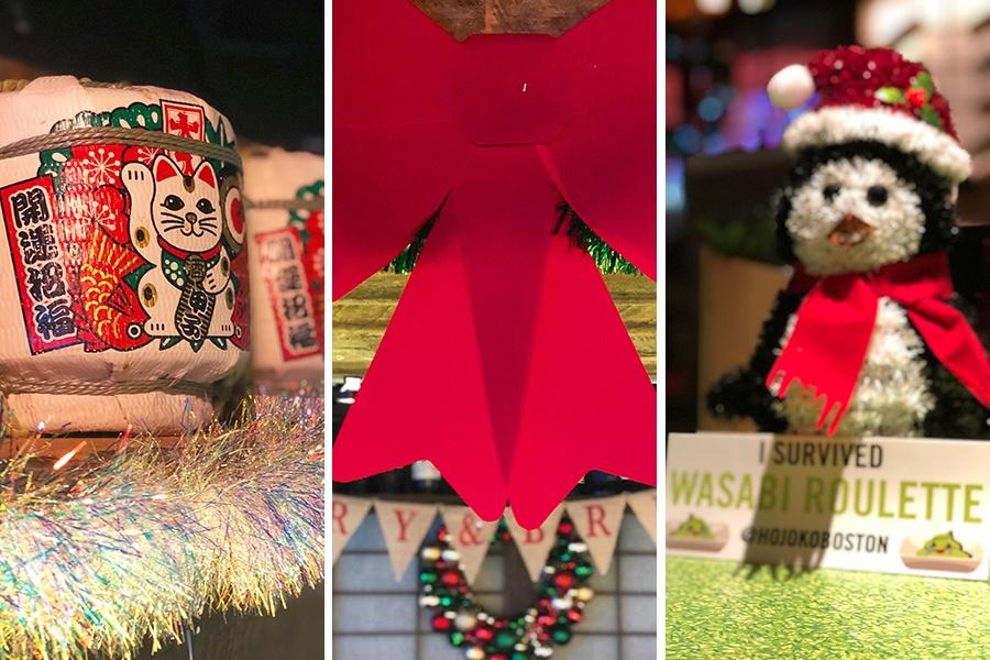 Hojoko holiday decorations