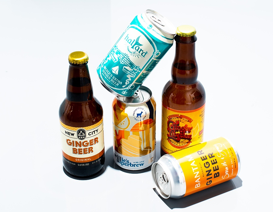 New England ginger beers