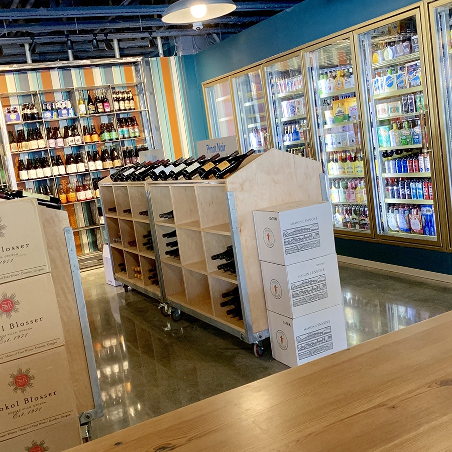 Proof is a liquor store and community space in Somerville