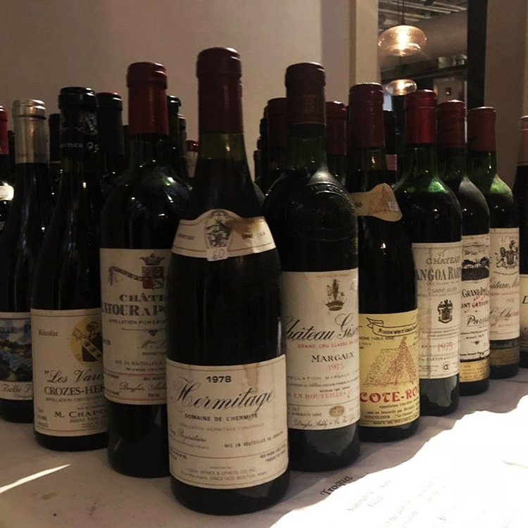 """A deeply discounted """"Wine Table"""" is ready for perusal at Troquet on South"""