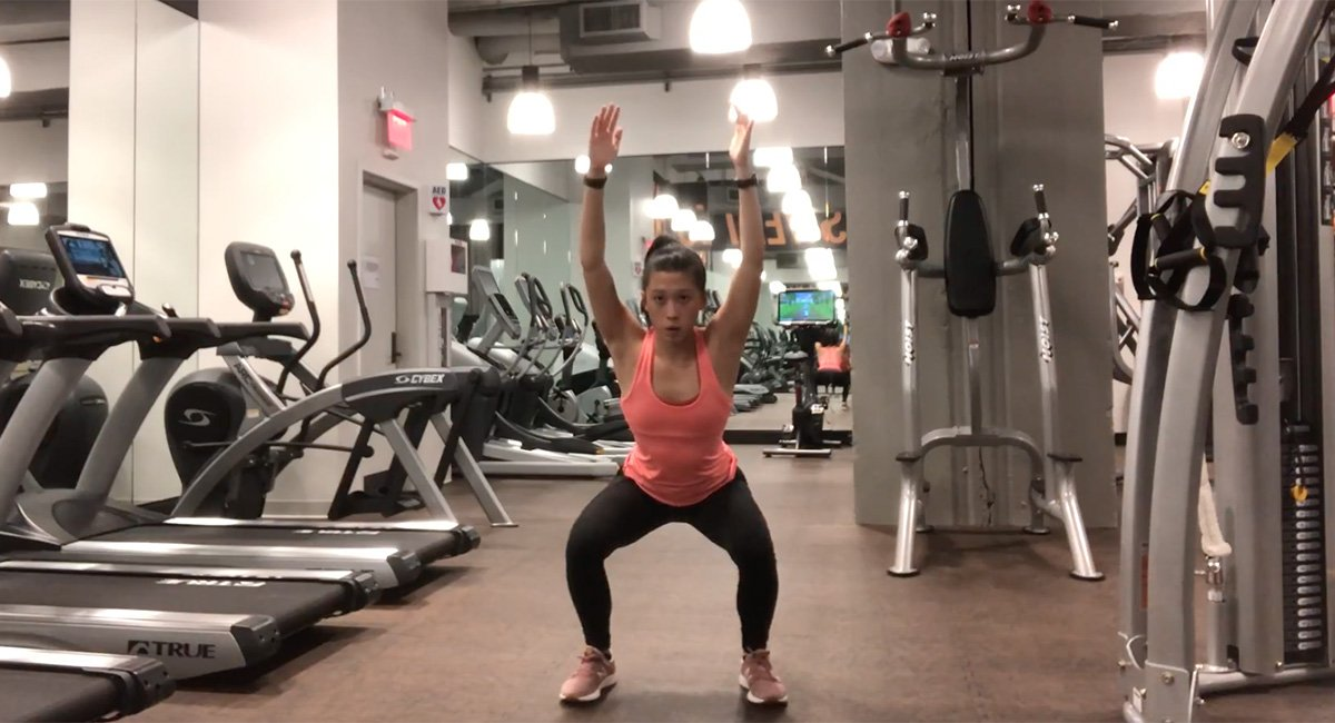 Four Moves for a Killer At-Home Workout