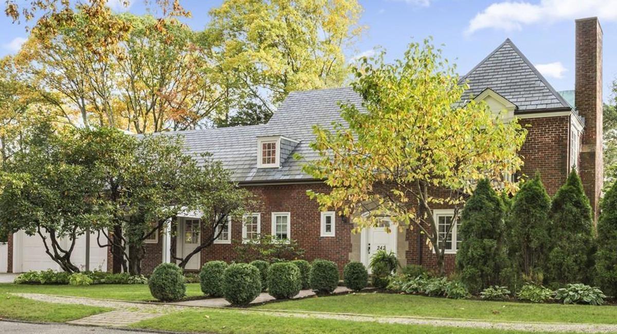 On the Market: An Elegant Brick Manor in Chestnut Hill