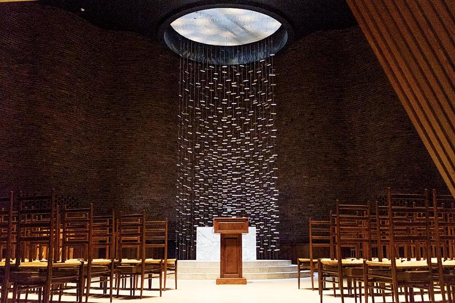 MIT's non-denominational chapel