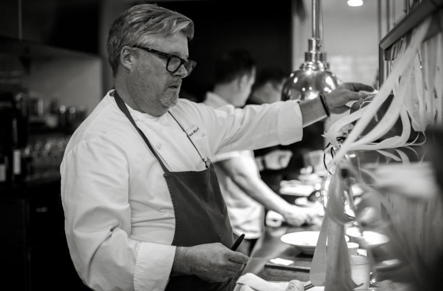 Chef Frank McClelland at L'Espalier