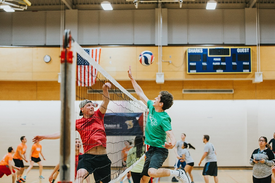 indoor sports leagues in Boston