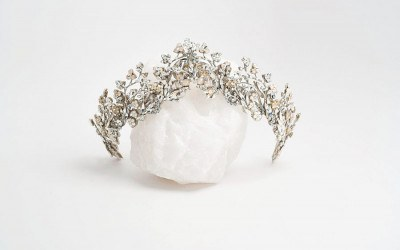 Maria Elena tiara from Musette Bridal
