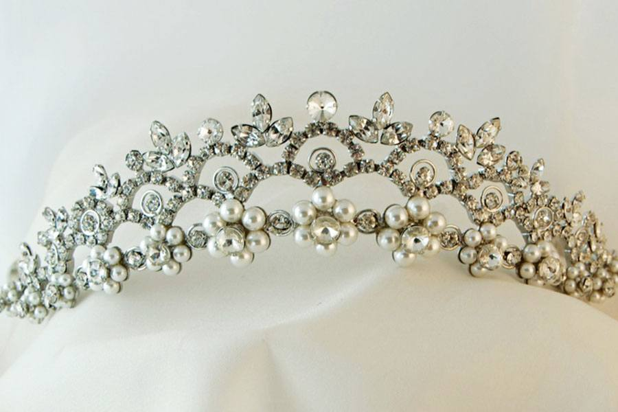 Princess tiara from Willow Bridal
