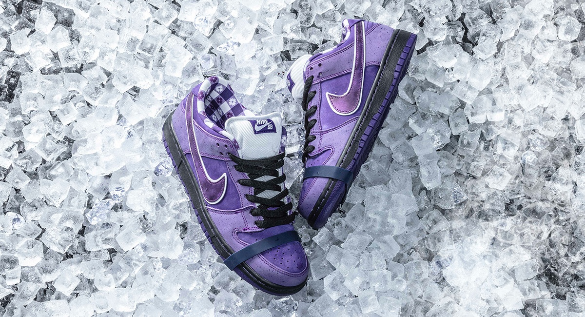 239c44047f94a7 Concepts and Nike Are Releasing the Purple Lobster Dunk Shoe