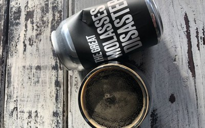 The Great Molasses Disaster imperial stout by Backlash Beer Co.