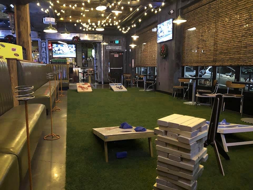 The Lawn on Broadway is open this winter at Backyard Betty's