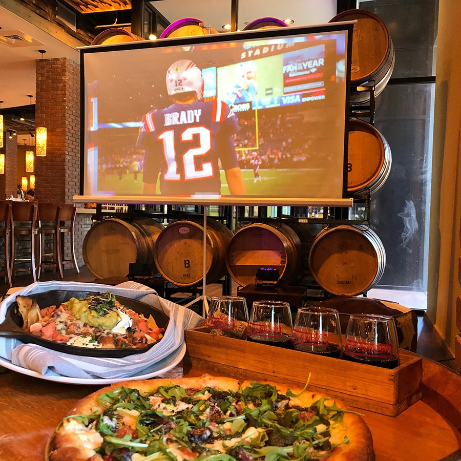 Super Bowl party at City Winery Boston