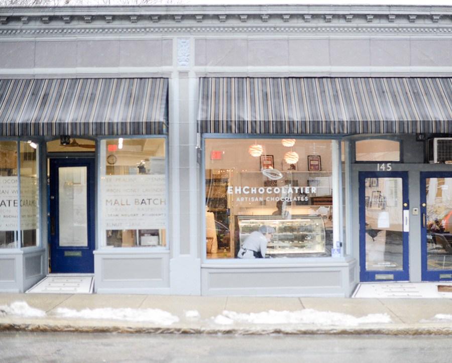 EHChocolatier Cambridge storefront