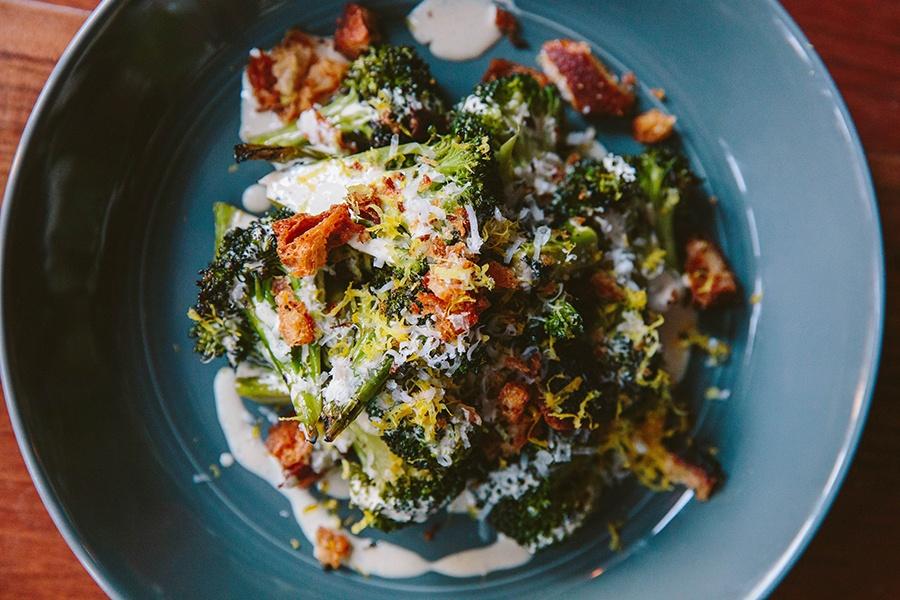 Broccoli alla grillia