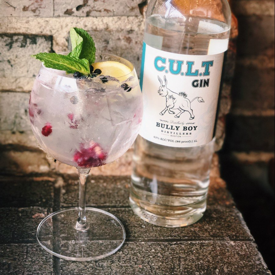 G.T.O.T.M.with Bully Boy CULT Gin at Toro