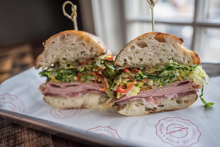 Longfellow Bar's Italian sandwich