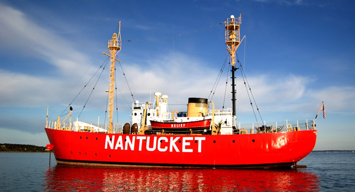 You Can Live Inside the Big Red Nantucket Lightship