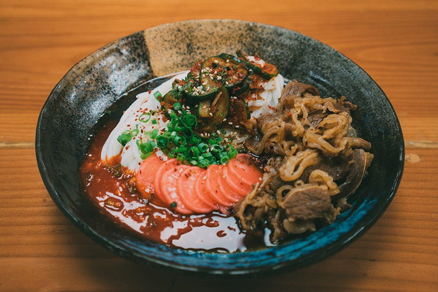 Bibim Udon is a collaboration between Yume Ga Arukara and Perillas.