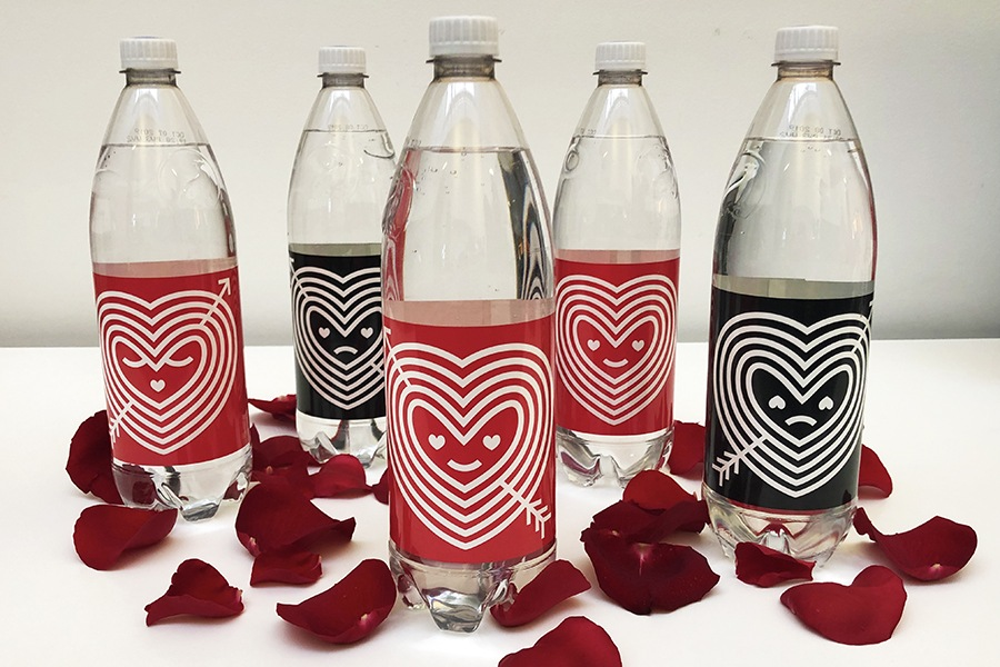 Red Hearts and Black Hearts are Polar Seltzer's limited-edition flavors for Valentine's Day