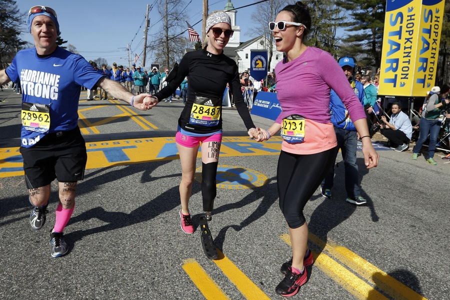 Dancer who lost leg in Boston Marathon bombing hit by vehicle