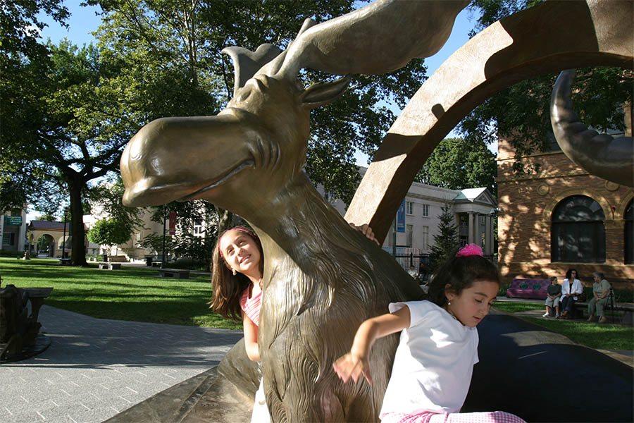 amazing world of dr seuss sculpture garden