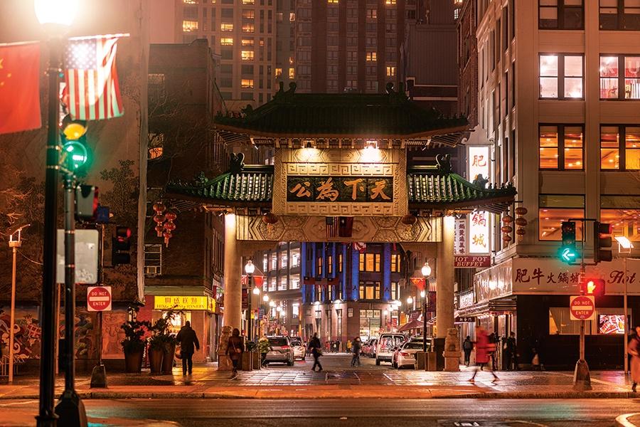Chinatown Gate Boston