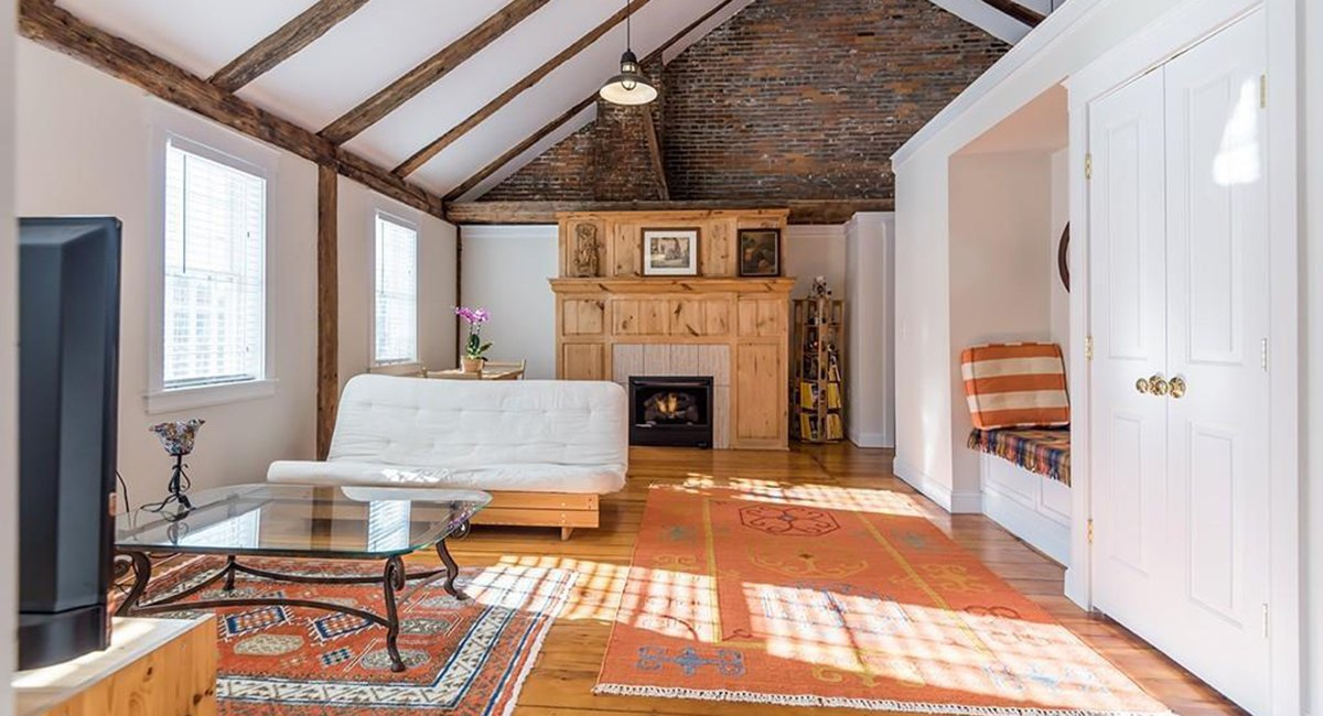 On the Market: A Rustic Chic Condo in Carlisle
