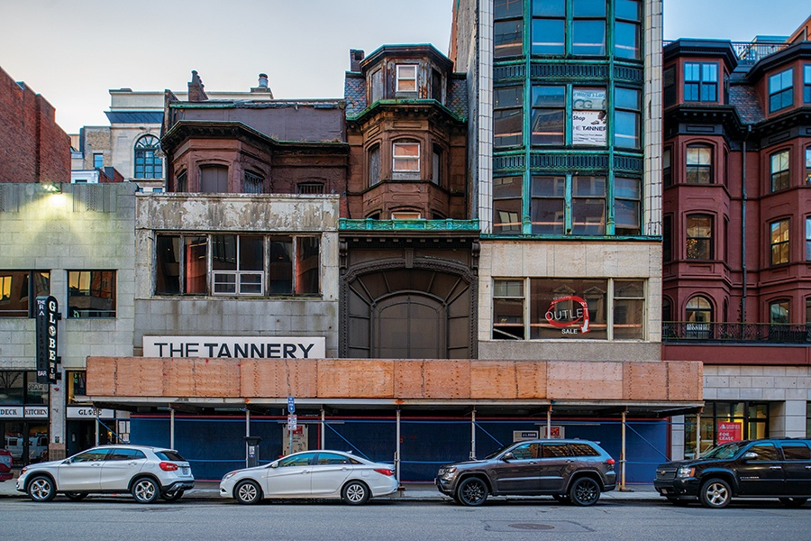 The Bully Of Boylston Street The Tannery S Sam Hassan