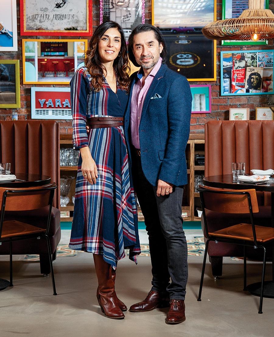 Bar Mercato's married co-owners, Teodora Bakardzhieva and Jairo Dominguez, at their Allston restaurant Casa Cana