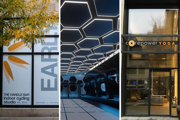 new gyms and fitness studios in Boston