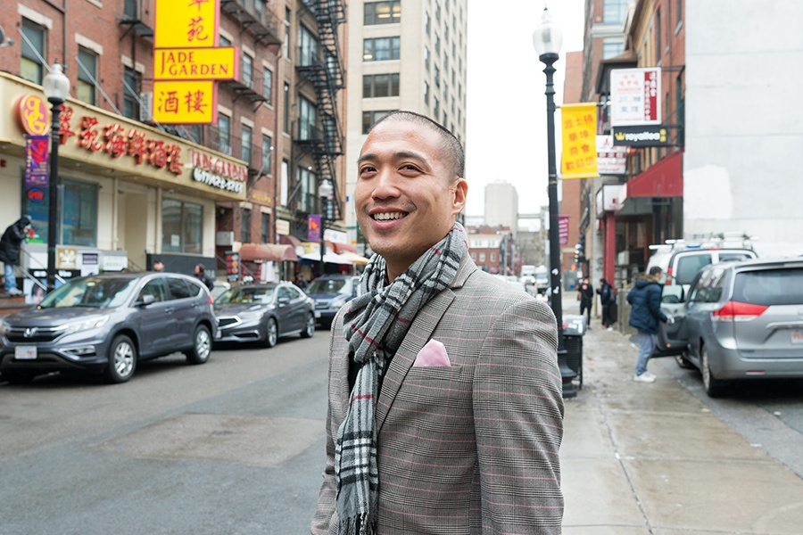 Giles Li Executive Director Boston Chinatown Neighborhood Center