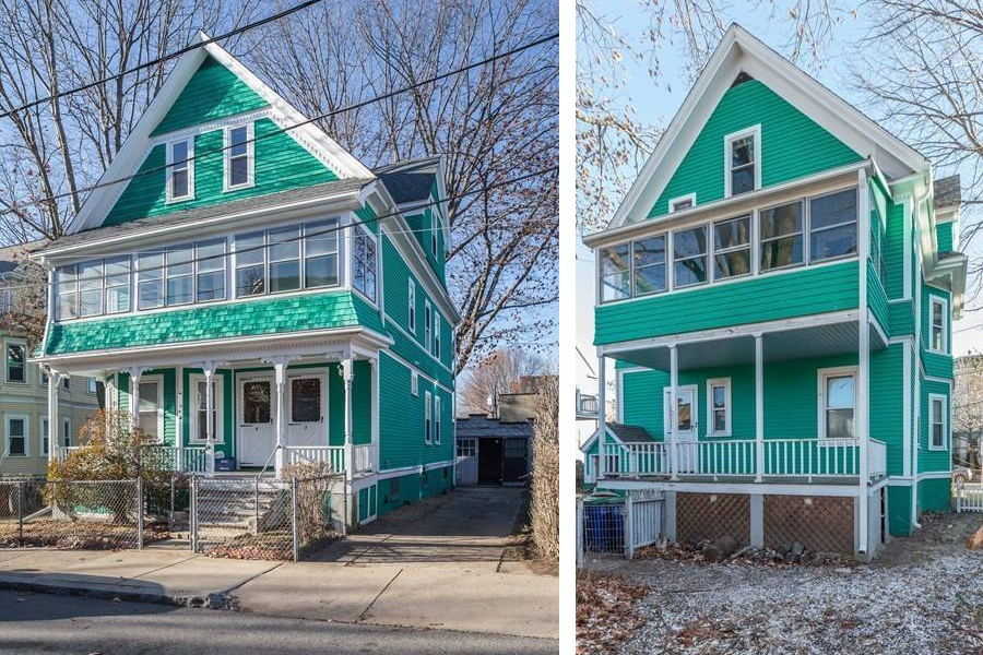 Fixer-Upper Friday: A Teal Two-Family in Somerville