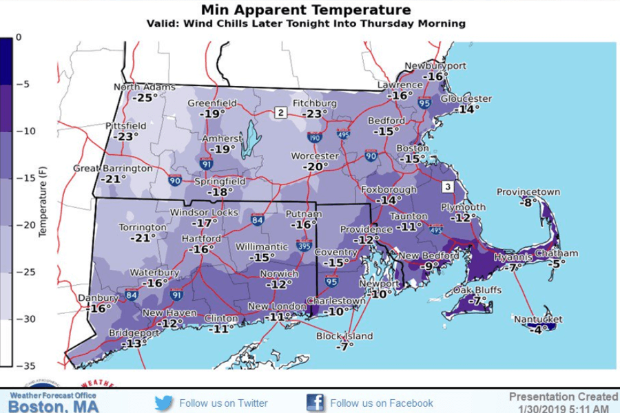 wind chill national weather service