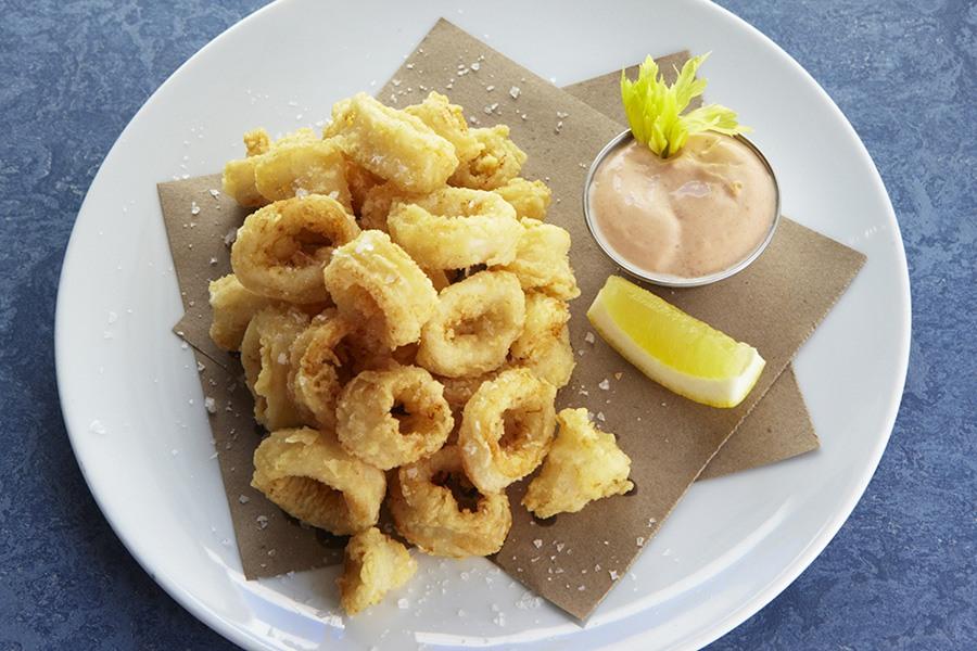 B&G Oysters calamari