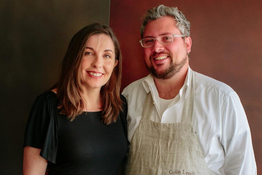 Heather and Colin Lynch of Bar Mezzana