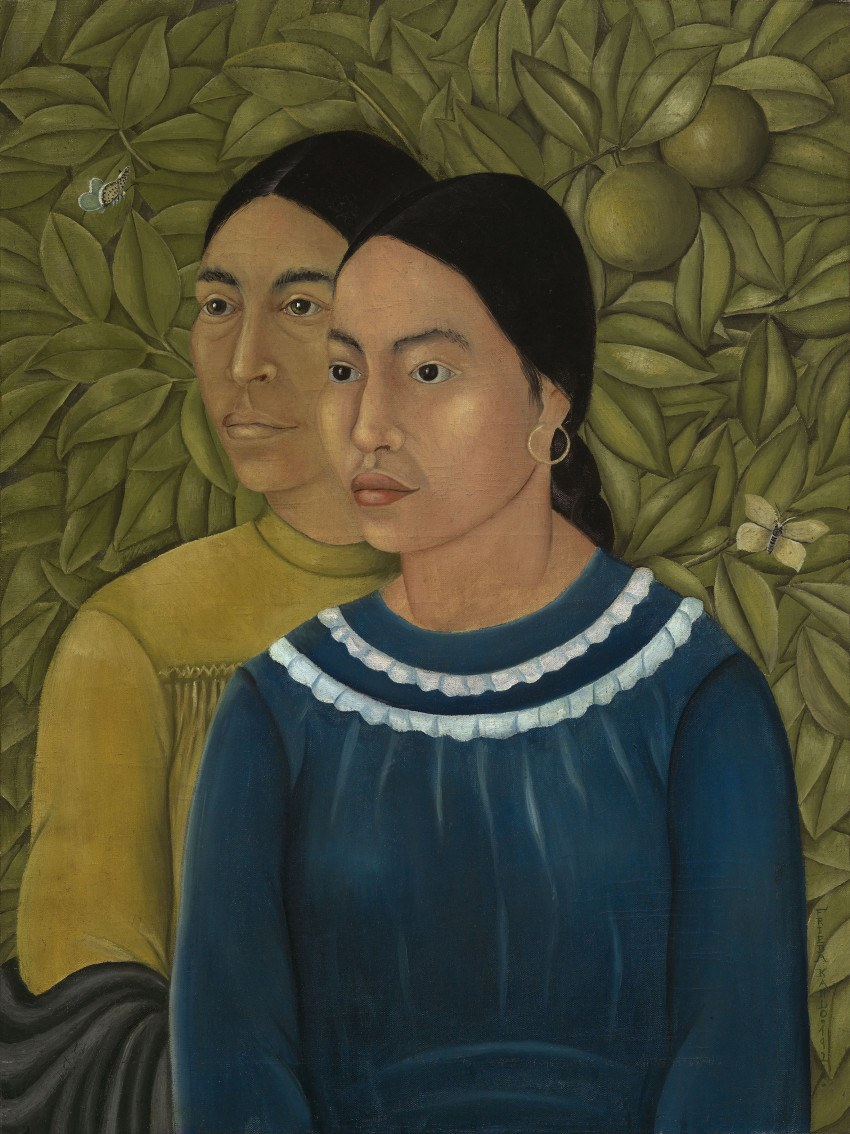 Dos Mujeres painting by Frida Kahlo