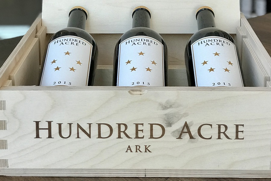 The Urban Grape just got in stock two vintages of Hundred Acre wines